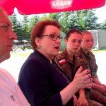 Obozy szkoleniowe i dodatkowe punkty na studia. Minister edukacji w Centrum Edukacji Mundurowej w Ełku