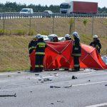 Tragiczny wypadek na S7. Nie żyje 63-letni kierowca samochodu dostawczego