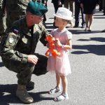 W Olsztynie uroczyście powitano żołnierzy wracających z misji na Bałkanach