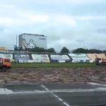 Ruszyły prace na stadionie Stomilu. Murawę czeka spory lifting