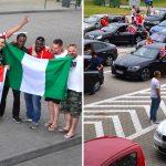 Nie maleje ruch kibiców na polsko-rosyjskich przejściach granicznych