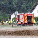 Do późnych godzin nocnych strażacy walczyli ze skutkami wieczornych burz i ulew na Warmii i Mazurach