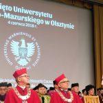 Uniwersytet Warmińsko-Mazurski ma nowego doktora honoris causa. Uczelnia obchodzi dziś swoje święto