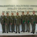 Nowi kaprale w warmińsko-mazurskiej Straży Granicznej. Funkcjonariusze otrzymali akty mianowania