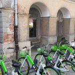 Po Olsztynie można już podróżować rowerem miejskim