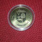 Z okazji 100. rocznicy odzyskania niepodległości Ełk wyemitował okolicznościową monetę
