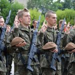 Na Warmii i Mazurach przybywa terytorialsów. Ponad 60 ochotników złożyło w Braniewie przysięgę wojskową