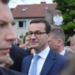 """Premier Mateusz Morawiecki z wizytą w Olsztynie. """"Zmiany, których dokonaliśmy, mają służyć takim miejscom jak Warmia i Mazury"""""""