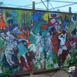 Setki osób malowały razem z nami nowy obraz Bitwy pod Grunwaldem