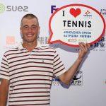 Sparingpartner światowych gwiazd tenisa mieszka w Olsztynie!