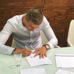 Zawodnik Legii Warszawa podpisał kontrakt ze Stomilem