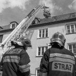 Zmarł strażak ranny podczas ćwiczeń. Przez miesiąc walczył w szpitalu o życie