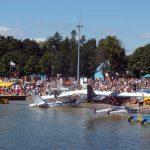 Największe w Polsce i Europie pokazy lotnicze w Giżycku. Nad jeziorem Niegocin trwa Mazury AirShow
