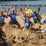 Ponad 20 zamków z piasku zbudowano na plaży UKIEL. Zobacz najładniejsze konstrukcje