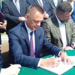 Umowa podpisana. Za 3 lata nowy odcinek drogi ekspresowej S61 Szczuczyn-Ełk
