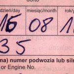 W Bezledach zatrzymano Rosjanina, który sfałszował ubezpieczenie OC