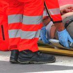 Jedna osoba została ranna w wypadku koło Gołdapi
