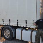 Straż Graniczna zatrzymała naczepy warte 75 tysięcy złotych