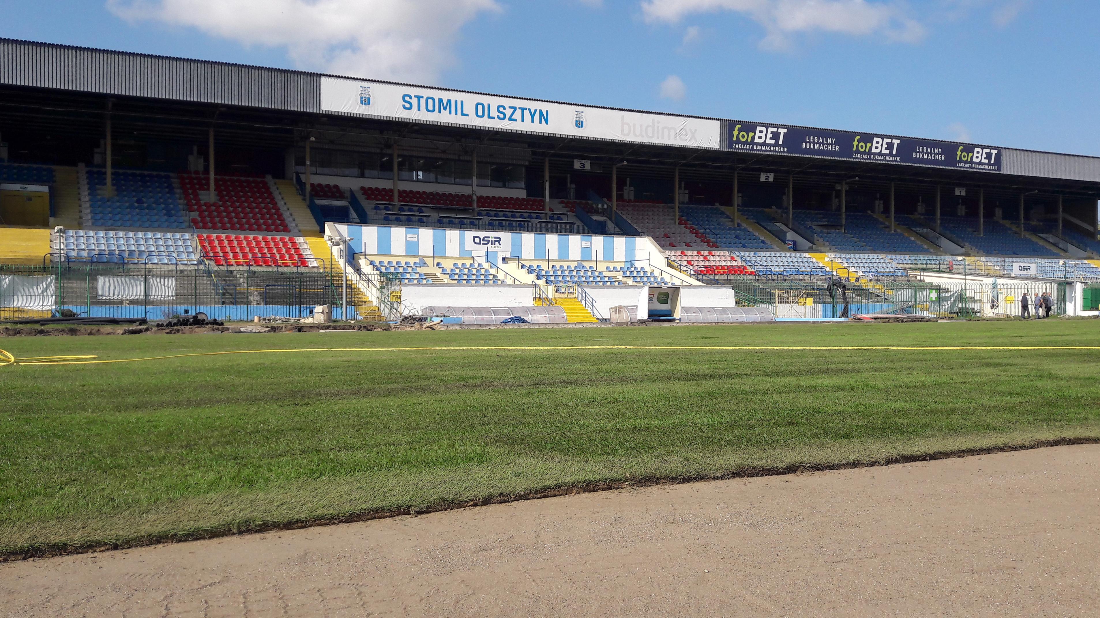 Stadion Stomilu Z Nową Murawą Koszt Inwestycji To 65