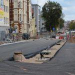 Zmiany na jednej z przebudowywanych ulic w Olsztynie. Od piątku skręcimy z ul. 1 Maja w ul. Partyzantów