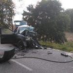 3 osoby nie żyją po zderzeniu dwóch aut na drodze wojewódzkiej Kętrzyn – Mrągowo