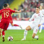Reprezentacja Polski uległa Portugalii w drugim meczu Ligi Narodów