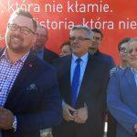 Politycy SLD Lewica Razem przeciwni dekomunizacji olsztyńskich ulic
