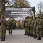 Prawie 100 żołnierzy Wojsk Obrony Terytorialnej złożyło przysięgę w Braniewie