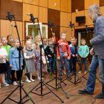 Mali zwycięzcy konkursu Leśne ludziki odwiedzili Radio Olsztyn. Zobacz zdjęcia i posłuchaj piosenek