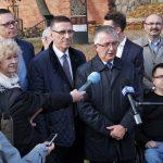 Komitet wyborczy Piotra Grzymowicz podsumował kampanię i namawiał do głosowania na urzędującego prezydenta