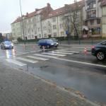 Potrącenie pieszego na al. Warszawskiej w Olsztynie. Kierująca autem straciła prawo jazdy
