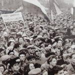 Największy wiec poparcia węgierskich powstańców w Polsce odbył się w Olsztynie. Mija 62. rocznica wydarzeń