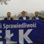 """Prawo i Sprawiedliwość podsumowało kampanię samorządową w Ełku. """"Teraz wszystko w rękach wyborców"""""""