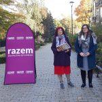 Partia Razem stawia na edukację i kulturę. W Olsztynie zaprezentowały się kandydatki do sejmiku województwa