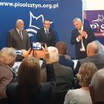 """Jerzy Szmit udzielił poparcia kandydatowi na burmistrza Szczytna. """"Łączy on doświadczenie z pozytywną energią"""""""