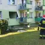 Policja zna przyczynę eksplozji w mieszkaniu w Olsztynie. Ranne zostały dwie osoby