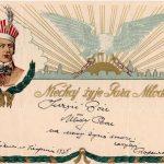 """Wystawa """"W służbie niepodległości. Telegramy patriotyczne 1895-1939"""""""