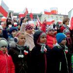 Mazurek Dąbrowskiego w wykonaniu najmłodszych. W Ełku ponad tysiąc dzieci zaśpiewało hymn