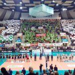 Po zaciętej walce siatkarze Indykpolu AZSu Olsztyn przegrali z Jastrzębskim Węglem