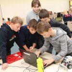 Jak zaprojektować robota, który wykona misję na Marsie? Uczniowie z Nidzicy i Ornety wzięli udział w zawodach z robotyki