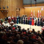 Mazurek Dąbrowskiego, pieśni patriotyczne, odznaczenia i wyróżnienia. Uroczysta gala z okazji 100. rocznicy odzyskania niepodległości