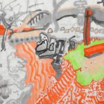 """Wystawa Aleksandra Woźniak pt. """"Patrząc na Tokio. Kreatywne obrazowanie metodą strumieni rysunkowych"""""""