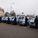 Olsztyńska policja odebrała nowe radiowozy. Pojazdy trafiły do komisariatów w powiecie