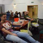 Ponad 30 osób wzięło udział w mikołajkowej akcji poboru krwi. Ochotnicy oddali ponad 10 litrów