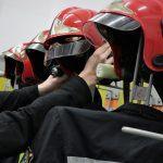 Duże straty po pożarze w zakładzie koło Szczytna. Spłonęło kilkaset ton słomy