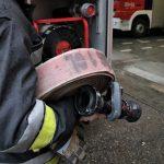 Tragiczny pożar w Ełku. Dwoje ludzi spłonęło w pustostanie
