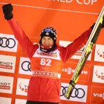 Kamil Stoch na podium w Oberstdorfie