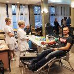 W Braniewie straż graniczna zebrała prawie 13 litrów krwi