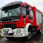 Straż Pożarna w Korszach otrzymała nowy wóz strażacki