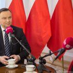 Prezydent Andrzej Duda złożył życzenia słuchaczom Polskiego Radia
